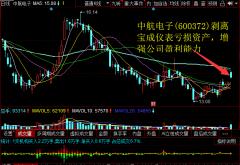 中航电子(600372)剥离宝成仪表亏损资产,增强公司盈利能力