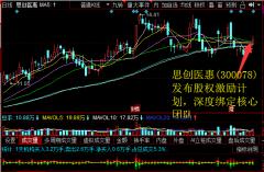 思创医惠(300078)发布股权激励计划,深度绑定核心团队