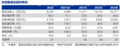 东方财富(300059):半年度业绩续创新高,上调全年盈利预测